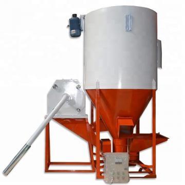 Horizontal Livestock Feed Mixer Machine Single Shaft Ribbon Type For Farm