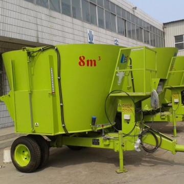 500kg/h poultry livestock fodder processing horizontal feed mixer