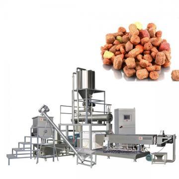 PLC Control Pet Food Processing Line , Dog Food Pellet Making Machine Excellent Efficiency