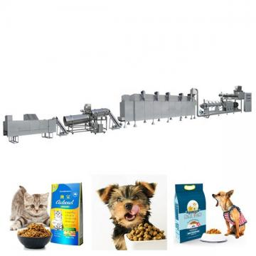 Pet food machine operator feed extruder pet feed machine processing line