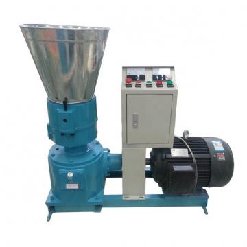 Vertical Ring Die Wood Pellet Mill Automatic Lubricating Cooling Reducer Driven