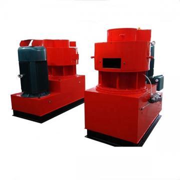 Vertical ring die sawdust pellet mill with Siemens motor and blower system