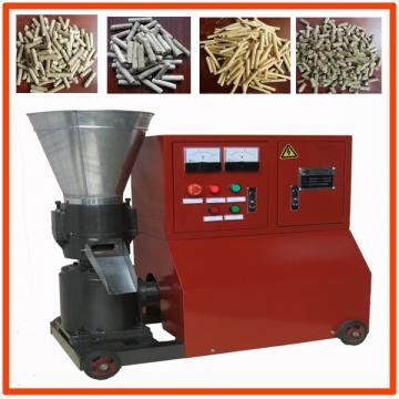 Chinese crusher all-in-one machine vertical ring die wood pellet mill