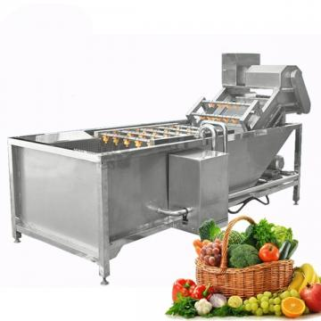 Turbocharged Bubble Food Washing Machine SS 304 Material For Food Factory
