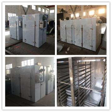 Direct Fired Rotary Industrial Hot Air Dryer Machine Through Continuous Tunnel Steam Tube