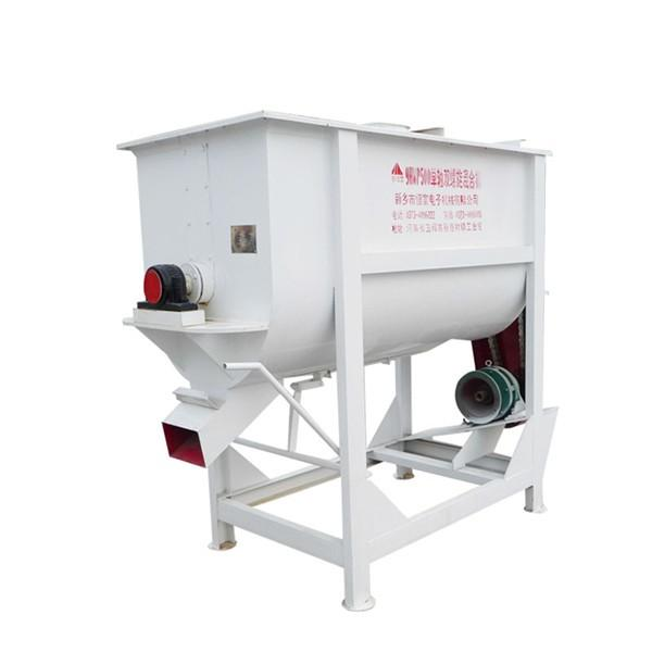 China Factory Manufacturer High quality animal livestock feed mixer/pellet feed production line with best price #3 image