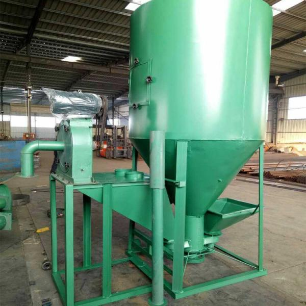 Poultry Livestock Farm Use 1000kg/H Feed Crusher & Mixer #1 image