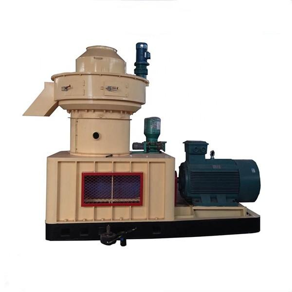 CE Owned Vertical Ring Die Rice Husk Sawdust Wood Pellet Mill for sale #3 image