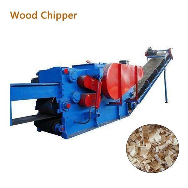Electric Wood Chipper Machine , Heavy Duty Chipper Shredder High Speed #1 image