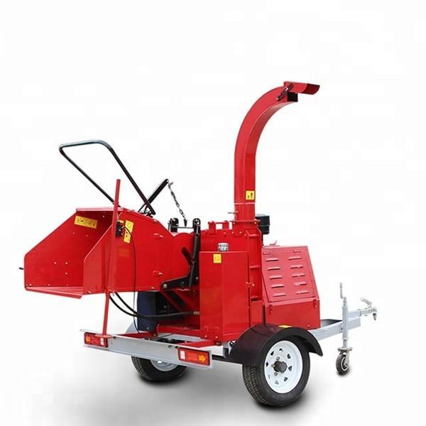 Electric Wood Chipper Machine , Heavy Duty Chipper Shredder High Speed #2 image